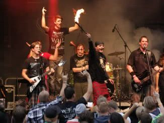 Sturmtänzer bei Rock Am Teich 2013 in Hürth