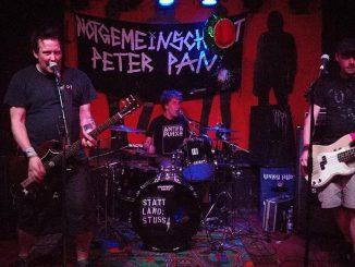 Notgemeinschaft Peter Pan auf der Bühne